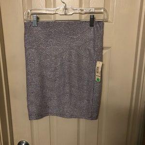 Decree Purple skirt